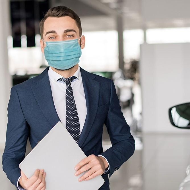 Infektionsschutz im Autohaus - Webinare, PDF Dokumente und Checklisten zu Corona Schutzmaßnahmen