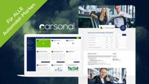 eRecruiting-Programm carsonal - Die Recruiting-Plattform von VIASONA